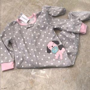 Footed pajamas - never worn